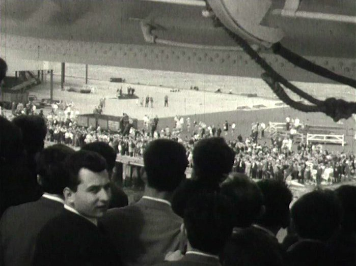 Amazing Amateurs: Tony Agapitos.  Arrival of the 'Ellini' 1964