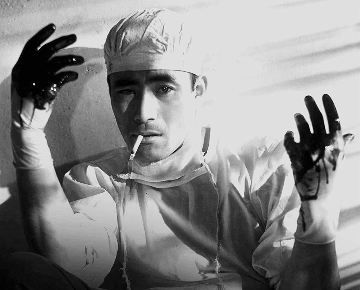 Toshiro Mifune in The Quiet Duel