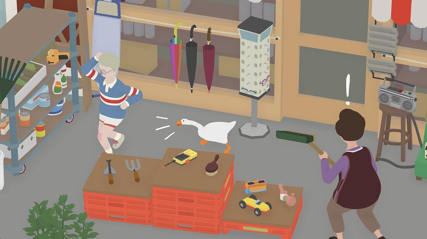 Untitled Goose Game (2019) - screenshot