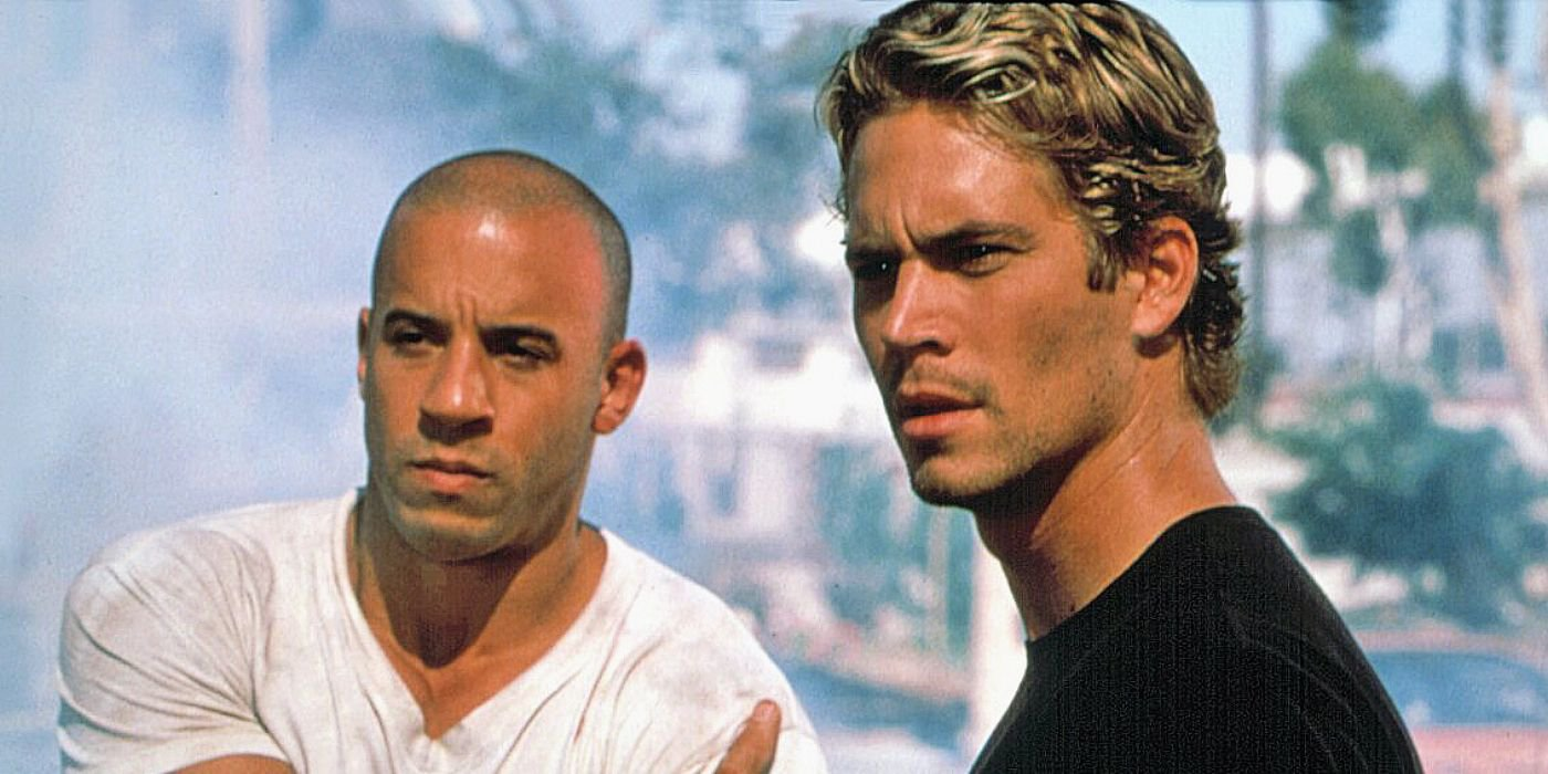 Vin Diesel and Paul Walker in 'The Fast and the Furious' (2001)