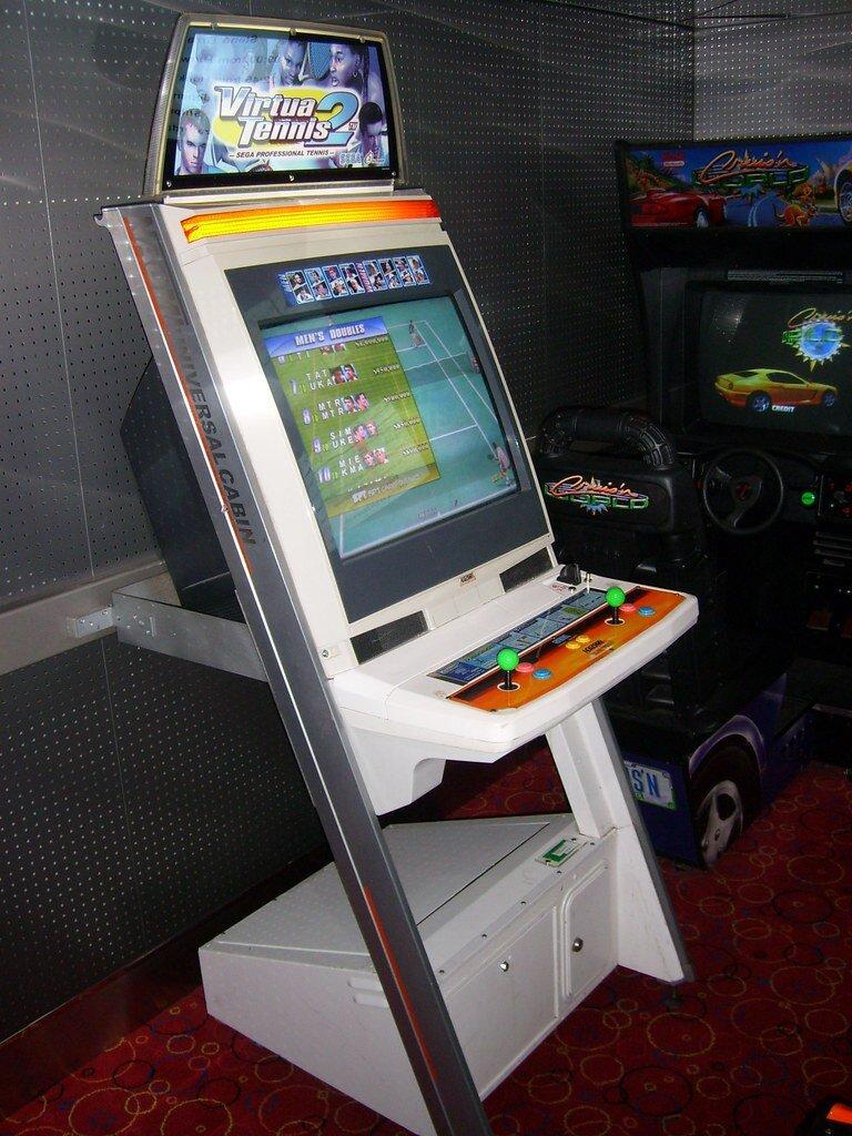 Virtua Tennis game machine