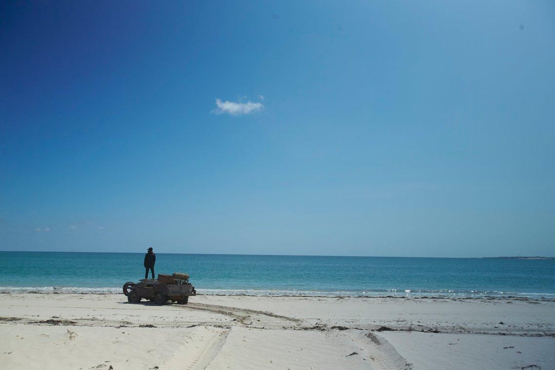 Warwick Thornton - The Beach - 4WD