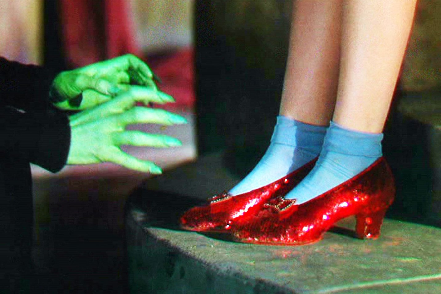 Wizard of Oz Technicolor ruby slippers.jpg
