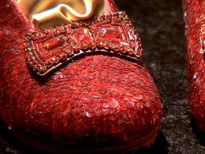 Wizard of Oz ruby slipper
