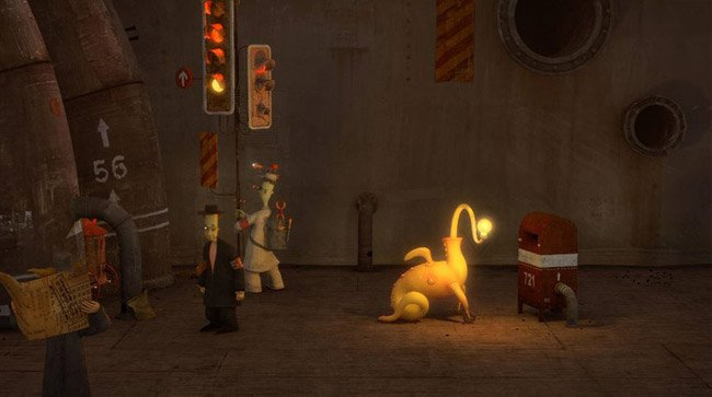 Shaun Tan's The Lost Thing film still