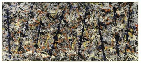 Blue Poles Jackson Pollock