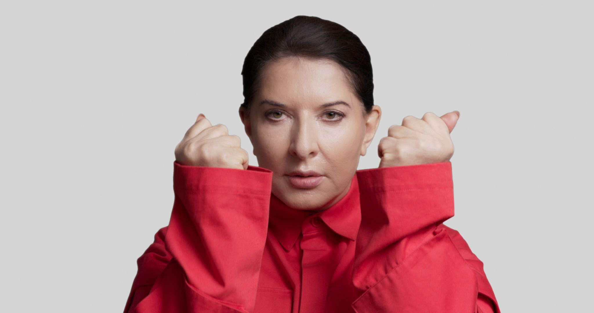 Marina Abramović in a still from Body of Truth