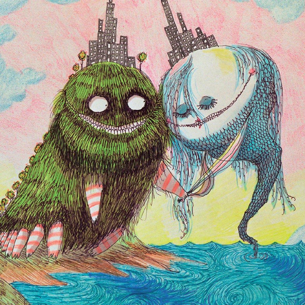 Tim Burton's fairytale worlds