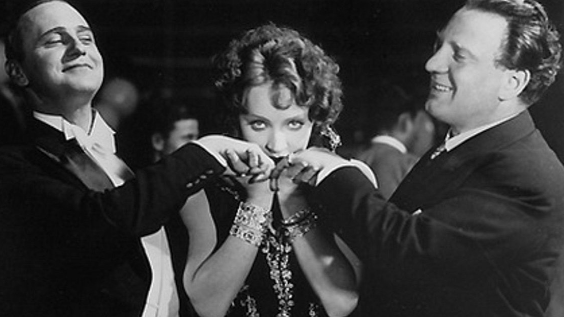 Pierre de Guingand, Marlene Dietrich, and Charles Puffy in I Kiss Your Hand, Madame
