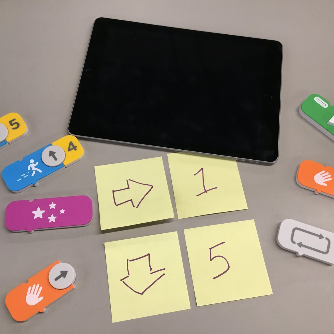 iPad used for online learning activities