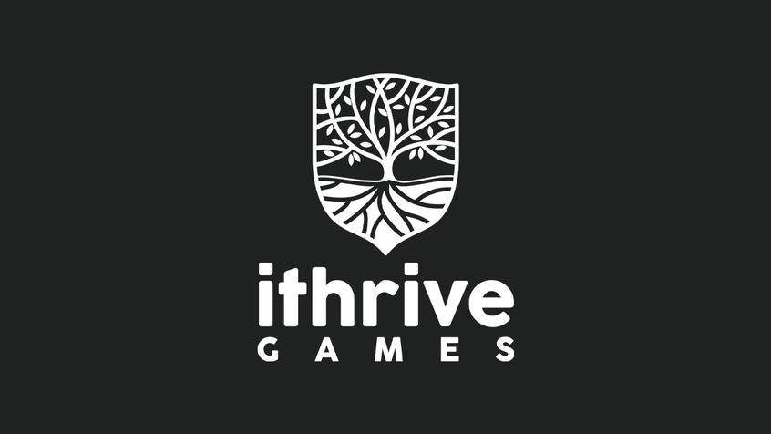 Ithrive games dark logo