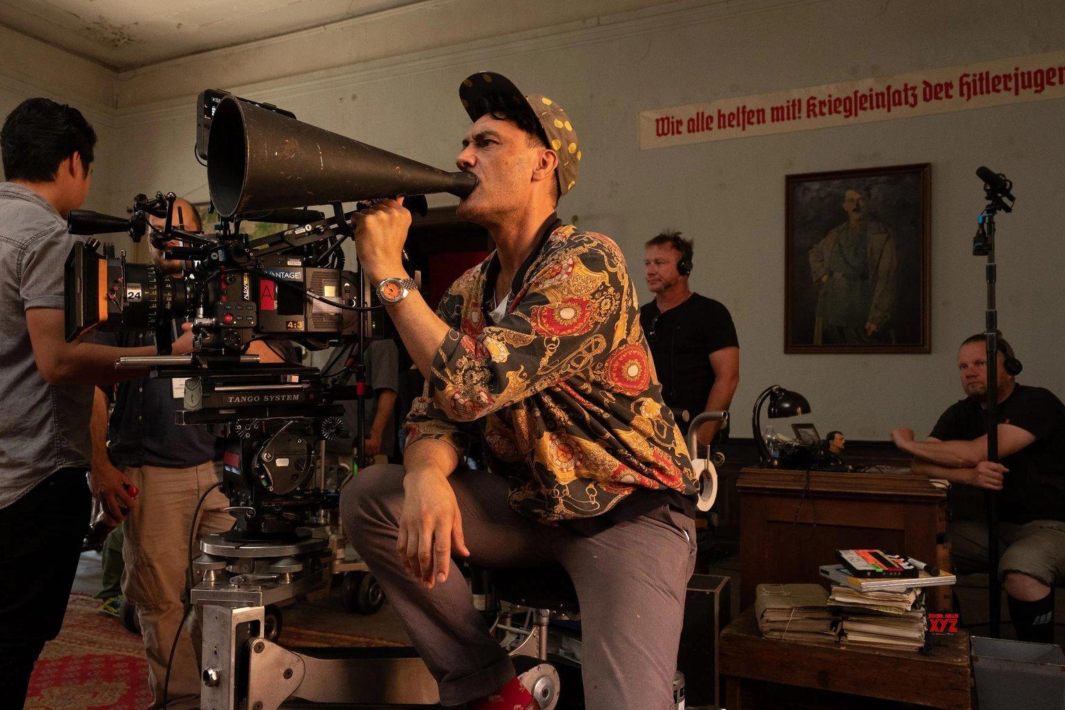 jojo rabbit behind the scenes director.jpg