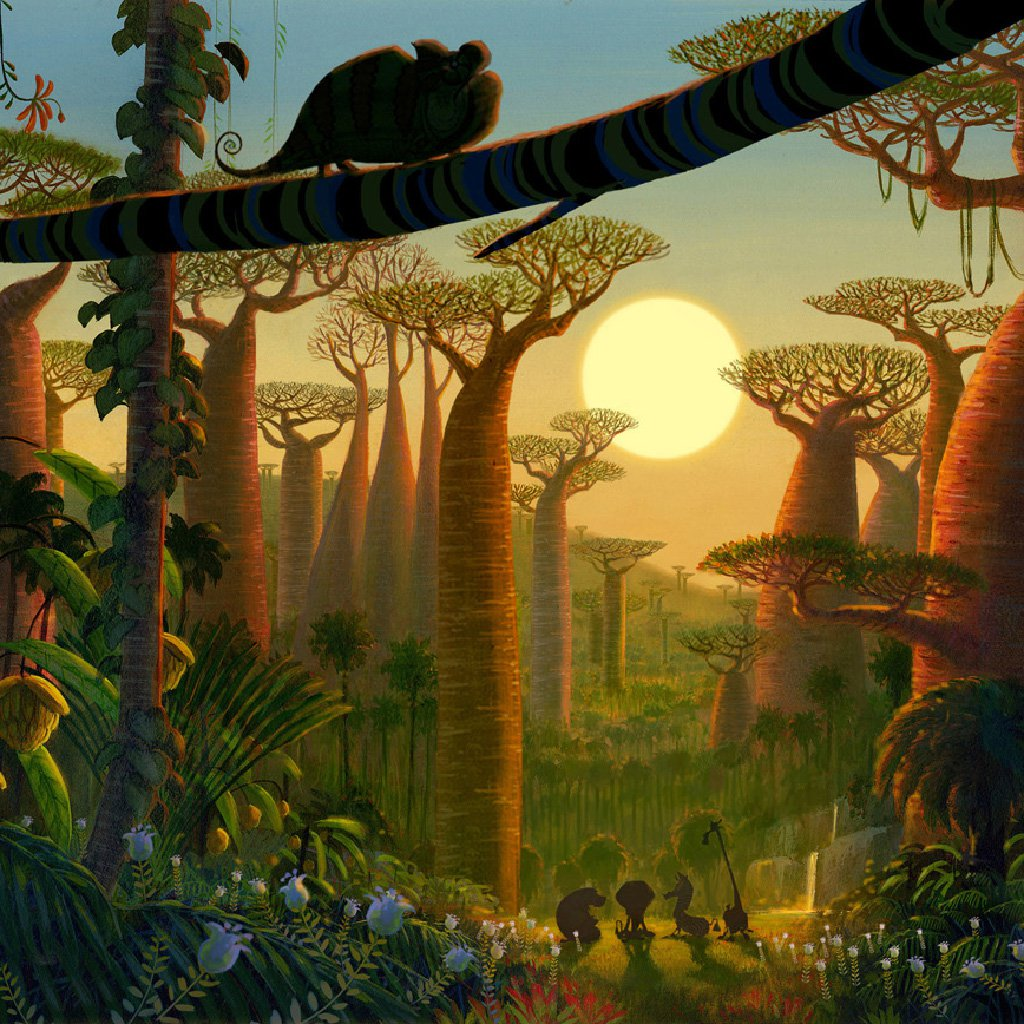 The lands of Madagascar