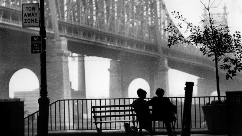 Brooklyn Bridge in Woody allen's Manhattan