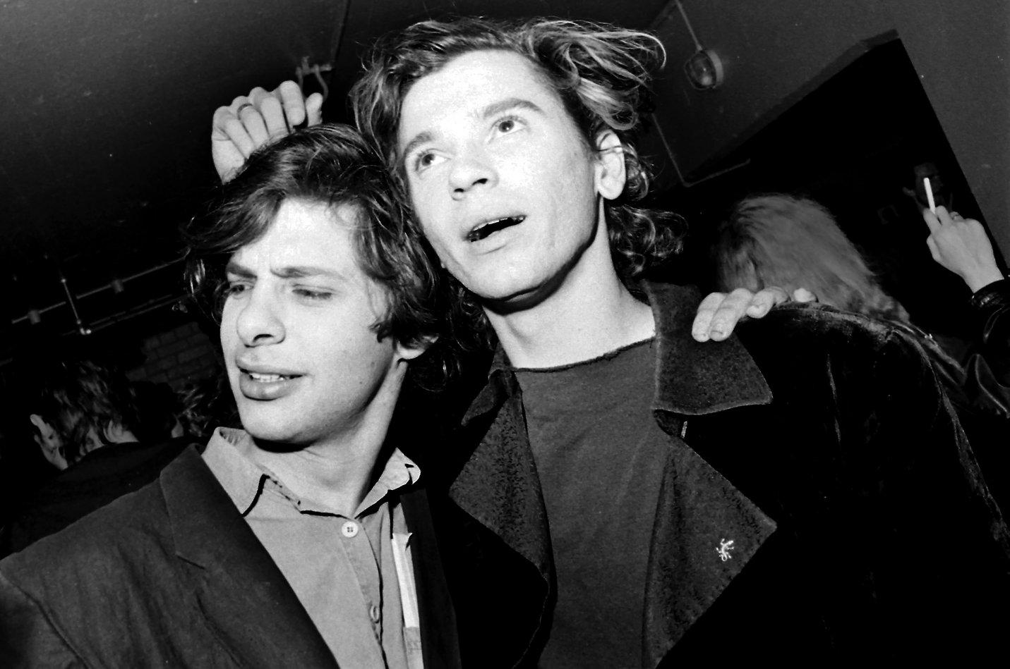 Michael Hutchence and Richard Lowenstein
