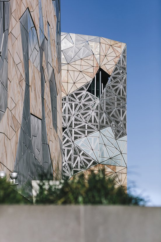 ACMI Building at Fed Square - Renee Stamatis Photography