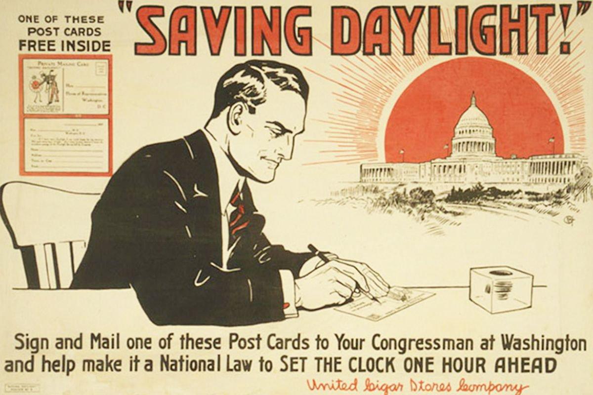 Daylight savings propaganda