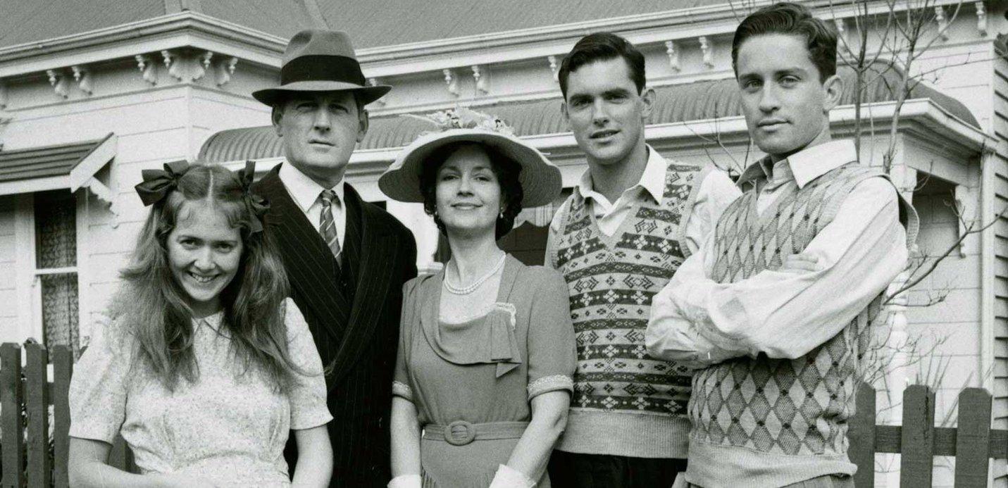 The cast of Australian drama series The Sullivans (1976-83)