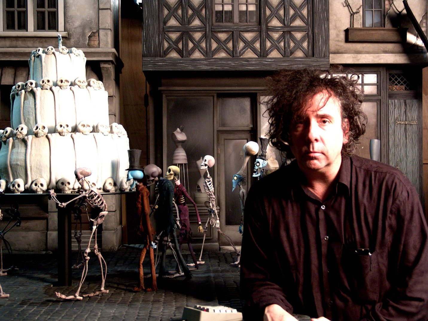 Tim Burton portrait
