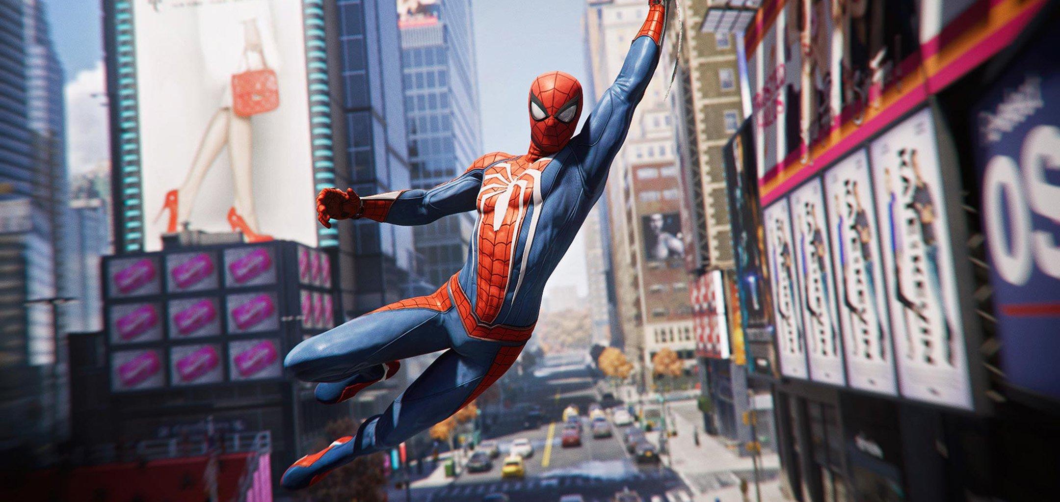 Spider-Man (2018) promo shot